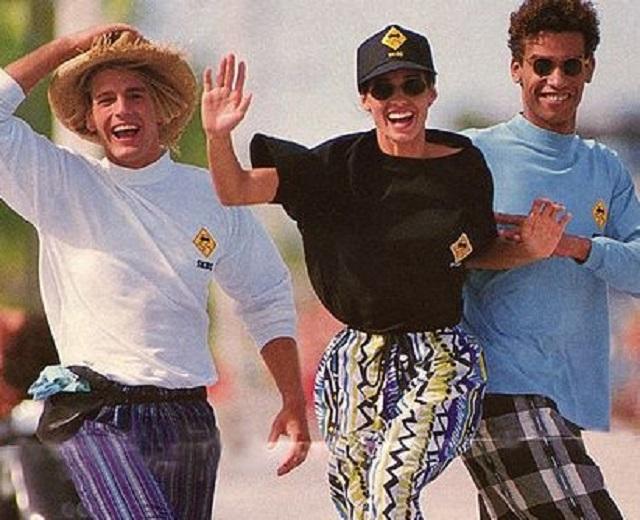 Jak się ubierało w latach 90
