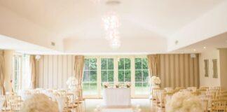 sala weselna w stylu glamour