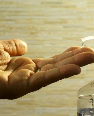 żel antybakteryjny