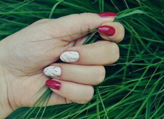 manicure hybrydowy 2020