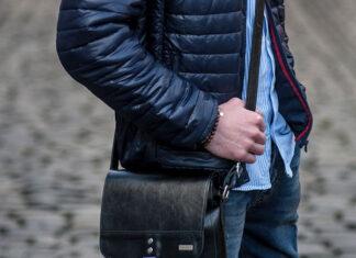 małe torby męskie na ramię