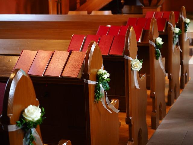 dekorowanie kościoła