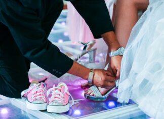 trampki na ślub