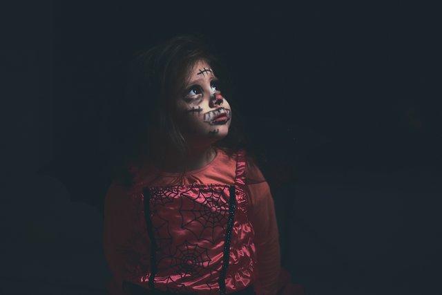 przebranie na Halloween dla dziewczynki