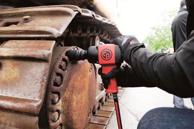 wykorzystanie narzędzi pneumatycznych