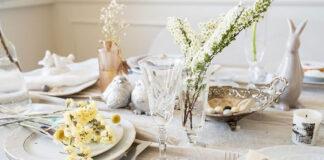 Jak udekorować stół w jadalni na każdą okazję