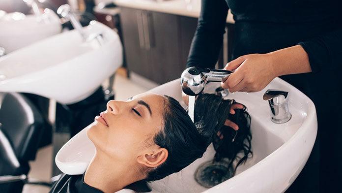 Myjnia fryzjerska z masażem