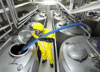 Używane maszyny przemysłowe do przetwarzania chemicznego